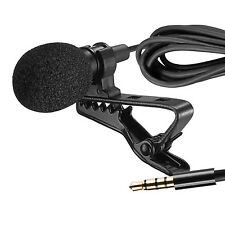 Neewer Lapel Microphone Clip-on Omnidirectional Condenser Mic