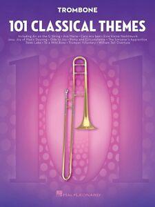 101 Classical Themes For Trombone Instrumentale Solo Livre Neuf 000155322-afficher Le Titre D'origine