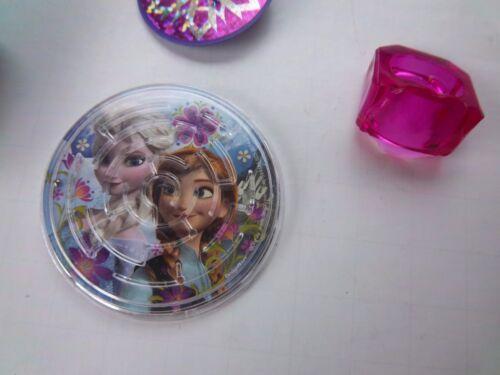 Disney FROZEN Girls Birthday Party Favor Sets Stencil Mini Notebook Top Ring NEW