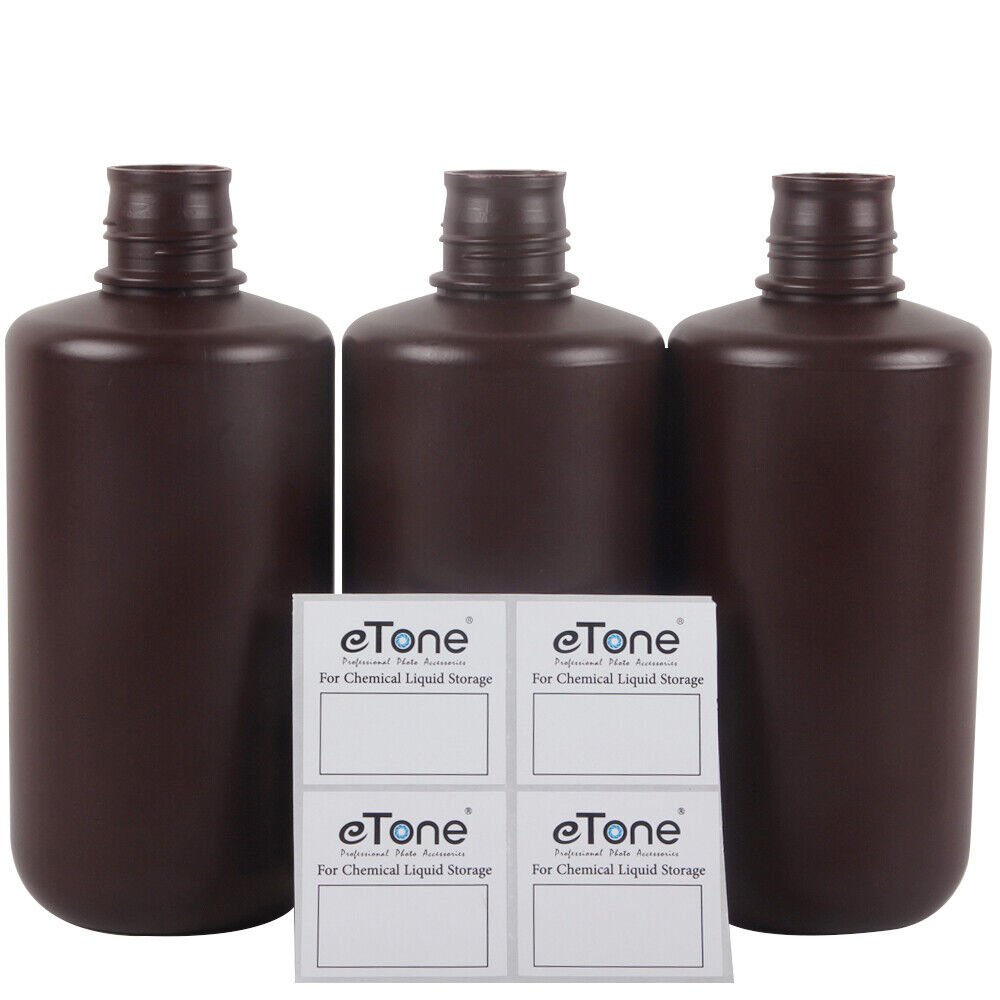 1L/0.264Gal 3D Printing Photosensitive UV Resin LCD/DLP Chemical Storage Bottles