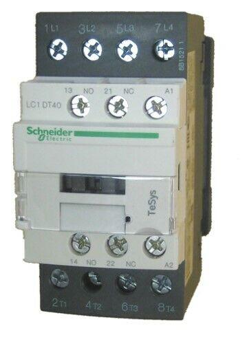 Schneider Electric Leistungsschütz LC1DT40P7 Leistungs Schütz 1S+1Ö / ( 1NO+1NC)