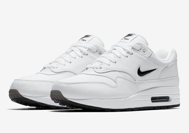 Size 13 - Nike Air Max 1 Premium SC Jewel White Black 2017 for ...