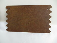 rusty 5 sign pieces per package Rustic Tin Sign primitive Small  Mini Rustic Accents by Darice country Rusted Shapes