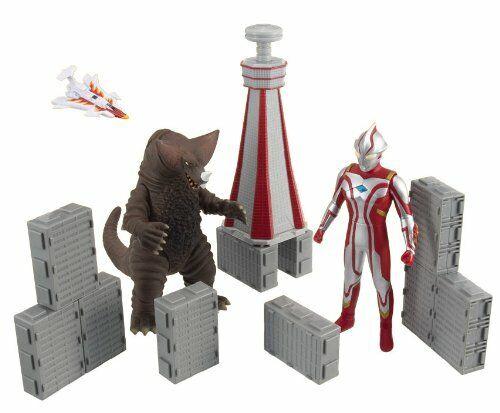 Ultra City serie 02 Ultraman Mebius vs gomorrahf S