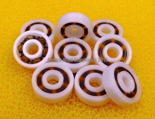 Plastic Nylon POM Ball Bearing Bearings 5*13*4 5x13x4 mm 4 PCS 695