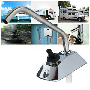 12V-Galley-Electric-Water-Pump-Tap-Faucet-Water-Tap-w-Switch-For-Caravan-UK