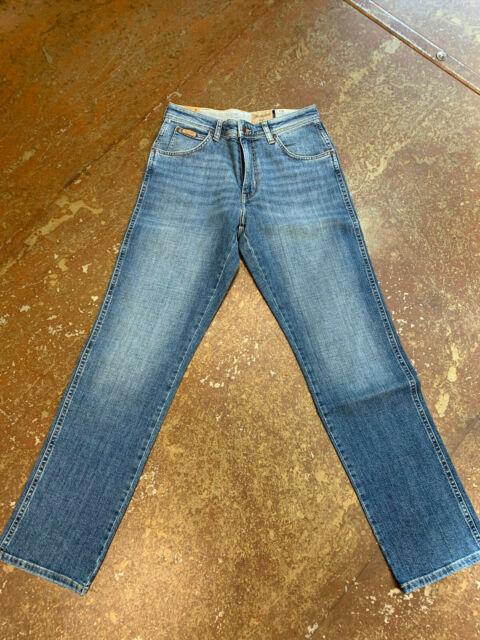 Wrangler Texas Regular Fit Jeans Worn Broke Wash  W1219237X Herren Stretch