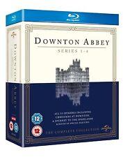 DOWNTON ABBEY ITV TV Series Complete Bluray Collection Boxset Season 1+2+3+4 New