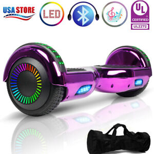 6-5-034-Hoverboard-Electric-Balance-Scooter-LED-Sidelights-UL2272-w-Bag-Best-Gift