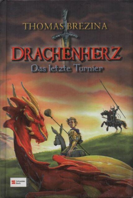 """DRACHENHERZ """"Das letzte Tunier"""" von Thomas Brezina-gebundene Ausgabe"""