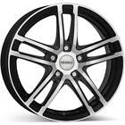 4 jantes DEZENT TZ Dark 7.0jx16 5x112 pour Alfa Romeo Giulietta