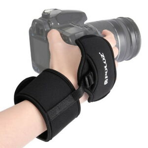 Camera-Hand-Grip-Wrist-Strap-w-1-4-034-Screw-for-DSLR-Nikon-Canon-Pentax-Sony