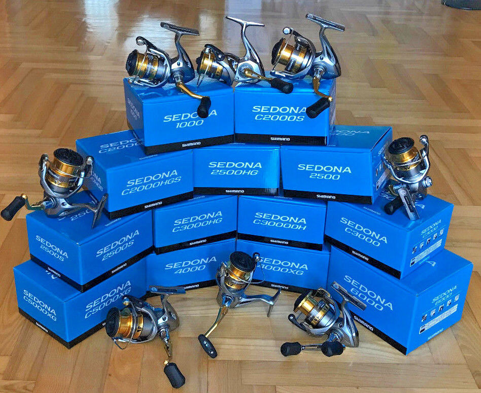 Shimano Sedona FI  500-6000 (All Models) Spinning Reels  leisure