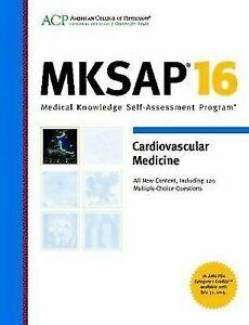 ACP MKSAP 16 Cardiovascular Medicine 120 Multiple Choice Questions
