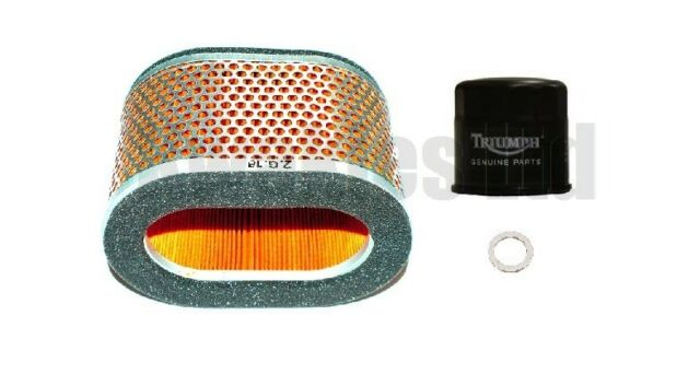 Plugs Air /& Oil Filter for Triumph 955i Speed Triple  2002 to 2004