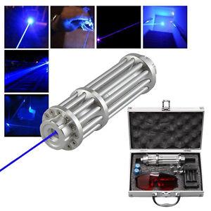 U-King-High-Power-445nm-Focusing-Blue-Beam-Laser-Pointer-Pen-Burn-Match-5MW-Box