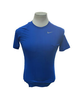 NEW-Nike-Dri-Fit-Pro-Cool-Compression-Royal-Athletic-Men-039-s-Shirt-Size-M-Medium