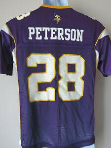 Vintage-Minnesota-Vikings-football-jersey-Med-Adrian-Peterson-28-Reebok-NFL