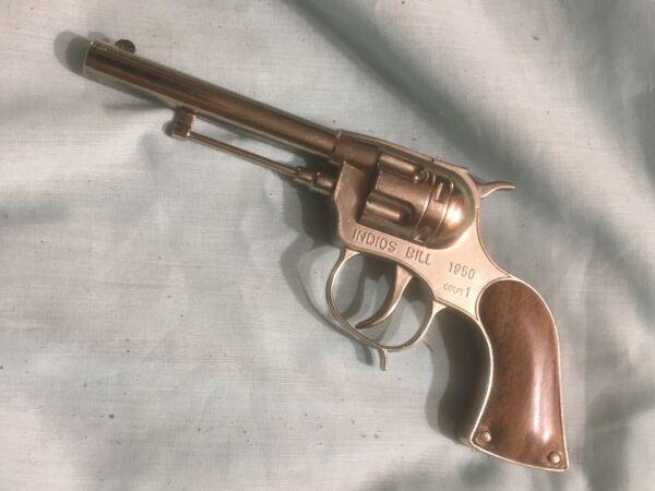 Dolce Pistola Giocattolo Indios Bill Metal Kit Pistola Giocattolo Anni 70
