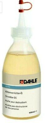 Bescheiden Dahle Bürotechnik Spezialöl Für Aktenvernichter Aktenvernichter-Öl Dahle 20793,