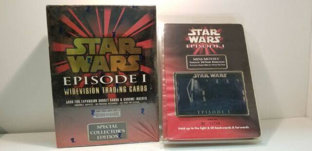 Topps Star Wars Episode 1 Widevision Trading Card Mini Movie Frame