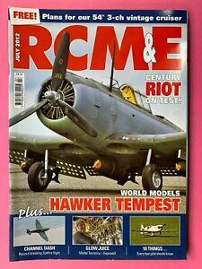 Rcm-amp-e-Magazin-Juli-2012-Enthaelt-Plan-Fuer-137cm-3-Ch-Vintage-Cruiser-Sandow