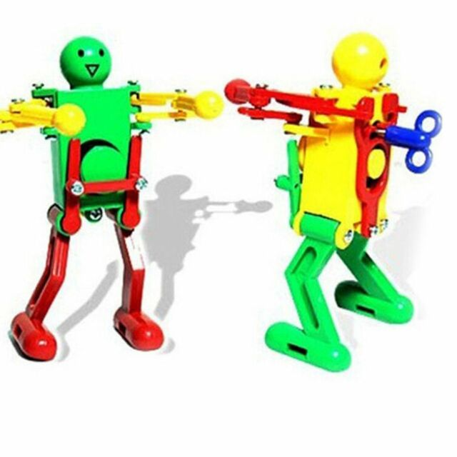 Funny Kids Walking Spring Fun Girls Boys Children Dancing Robot Gift Toy