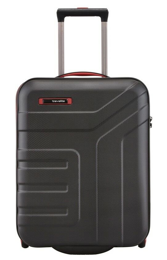 Travelite Vector 4W Carrello S Nero