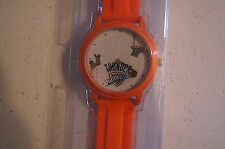 NIP NBA OKC THUNDER Overtime Sports Watch w/ BB as Second Hand needs Battery