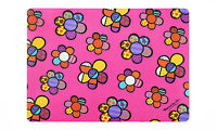 Romero Britto Placemat: Flower Icons Design