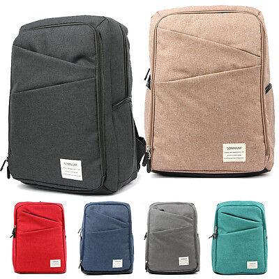 Vintage Men Women Unisex Canvas Backpack Rucksack Satchel School Bag Travel Bags