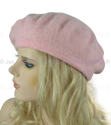Unisex Ladies Men French Day International Day Hat Wool 70s Party Costume BERET