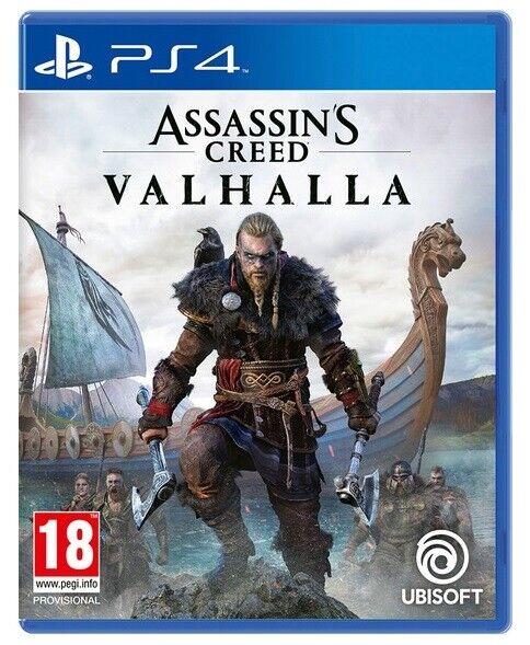 videogiochi e console: ASSASSIN'S CREED VALHALLA PS4 ITALIANO GIOCO PLAY STATION 4 VIDEOGIOCO PAL ITA
