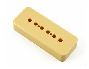 P-90 Pickup Soapbar Creme Cover Vintage Guitar Projects NEW 50mm Pole Spacing