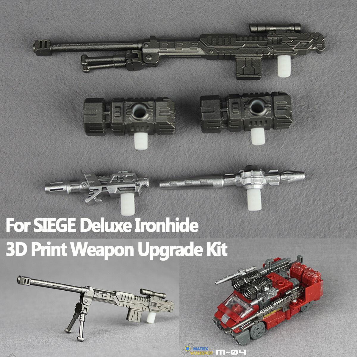 Transformation Matrix Workshop M-11 Upgrade Kit For Siege Deluxe Prowl