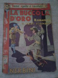 Paolo Lorenzini - LA BUCCOLA D'ORO - 1943 - 1° Ed. Nerbini