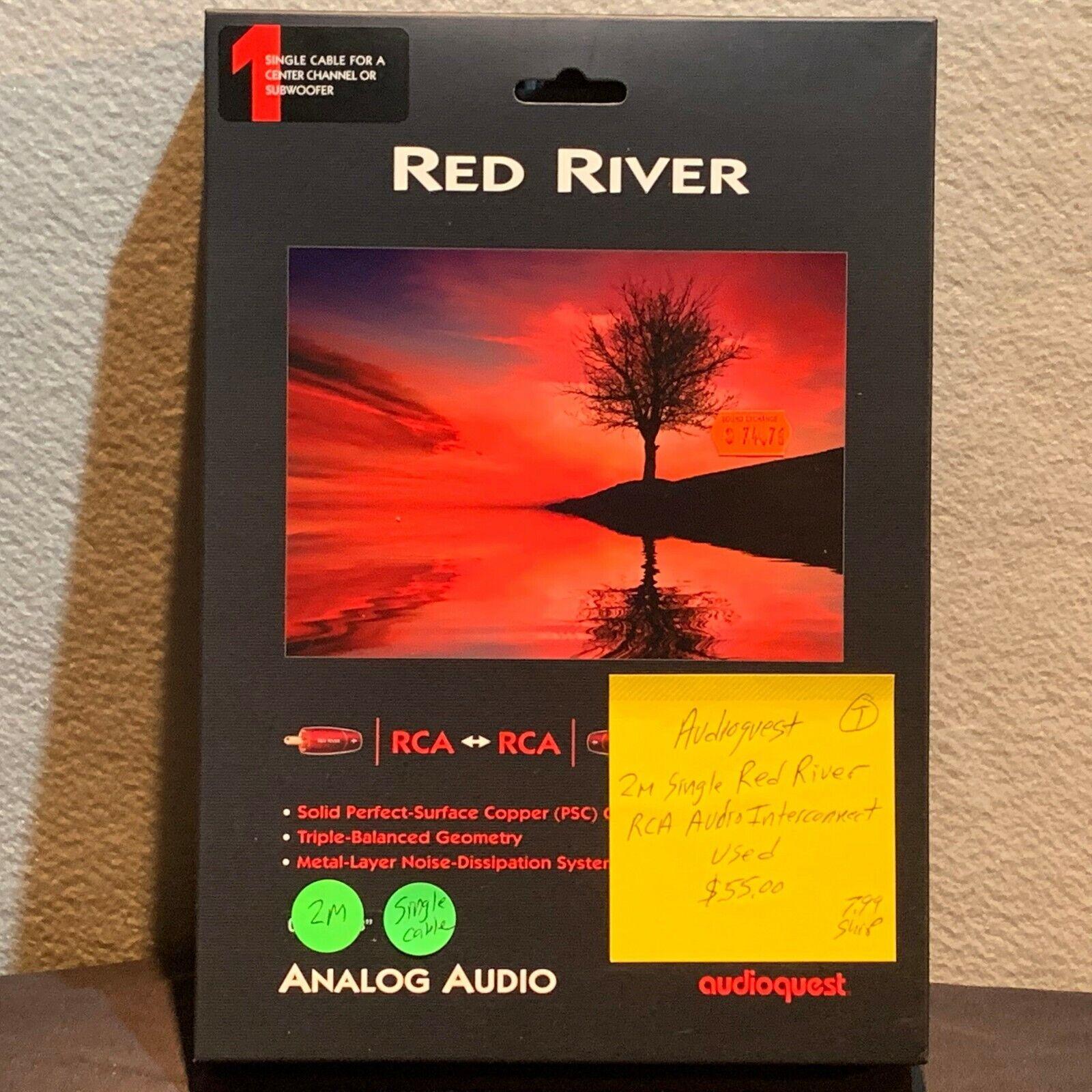 AudioQuest Red River XLR 2m PAIR