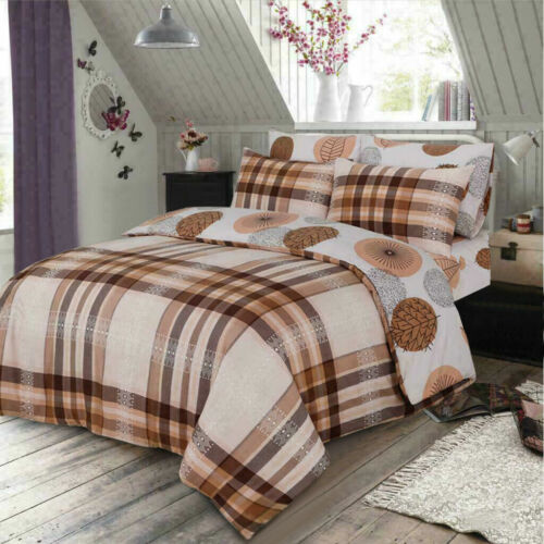 4 PCs Printed Poly Cotton Comforter Cover King Size Bed Set Quilt Duvet Cover