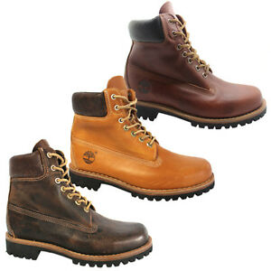 timberland earthkeepers heritage rugged mens boots leather