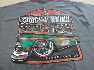 Street Machinery Swap A Rama Suburban T Shirt Black Gray Buy Sell Hot Rod Tee Ebay