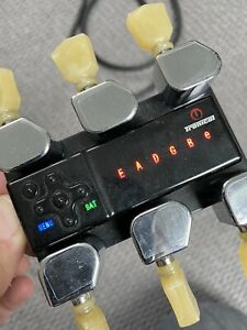 LEFT HANDED Tronical Min etune Tuner Removed From  LEFT HANDED Gibson Les Paul
