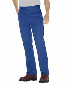 Dickies Mens Original Fit 874 Work Pant Royal Blue Classic Work Uniform New