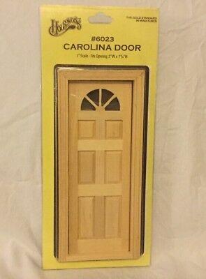 Dollhouse Miniature Crossbuck Dutch Door Houseworks #6009-1:12 Scale