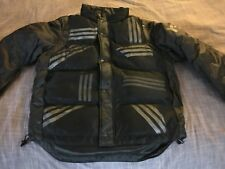 cb7e02dcee247 Adidas Y-3 By Yohji Yamamoto Mens Black Quilted Jacket Removable Sleeves  Size M