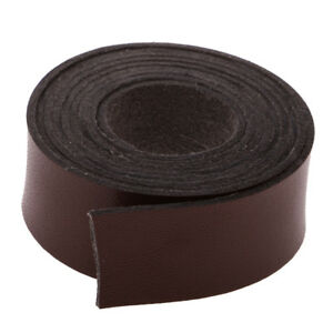 2pcs 5 Meters 20mm DIY Crafts Leather Strap Leather Craft Strip DIY Supplies