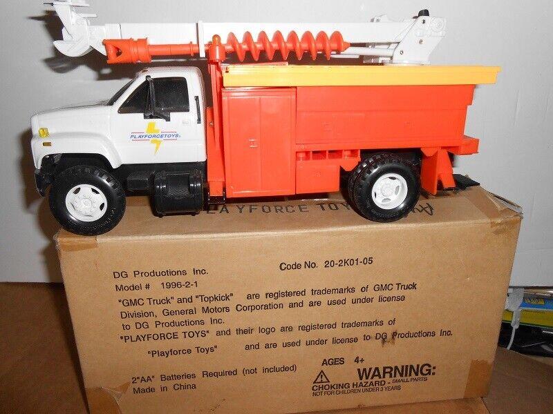 DG Productions GMC Auger camion échelle 1 24