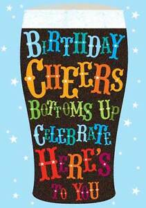 HAPPY-BIRTHDAY-CARD-034-BIRTHDAY-CHEERS-DESIGN-034-SIZE-4-75-034-x-6-75-034-GH0587