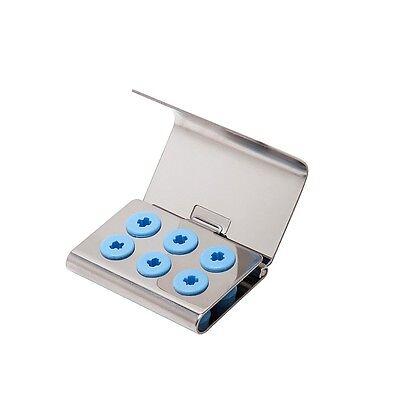 Dental Ultrasonic Scaler Tips KIT 6 holder for EMS Woodpeker DTE SATELEC Sirona