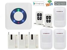 D09 IOS/Android APP IP Internet WIFI Wireless Home Security Alarm Burglar System