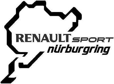 p40 Nurburgring Circuito Renault Pegatina Sticker Vinilo Moto GP Alemania MotoGP